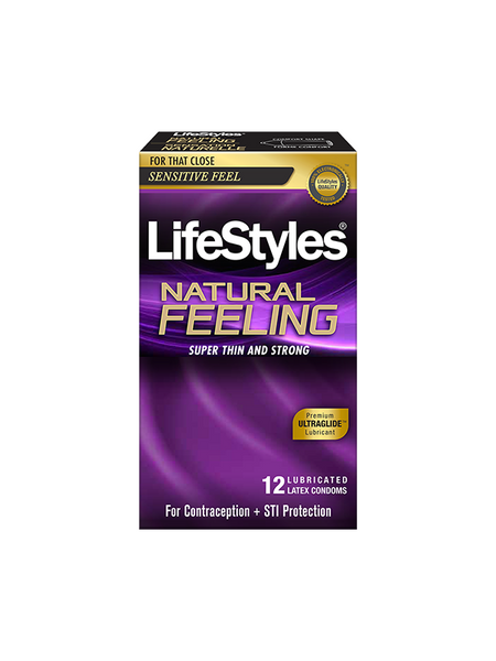 LifeStyles Natural Feeling Condoms 12 Pack