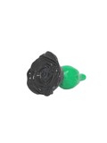 LoveCrafters Rosebud Plug Black Side