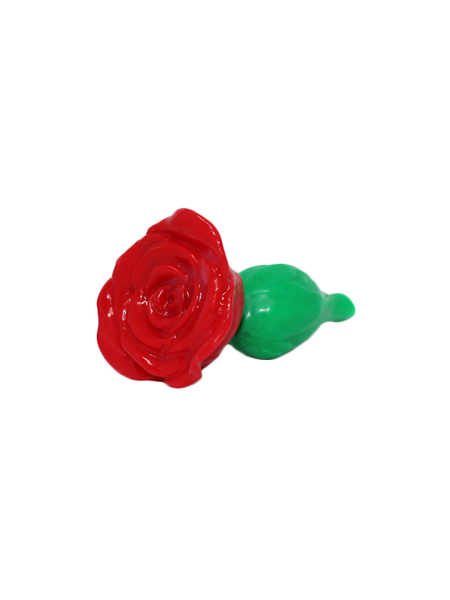 LoveCrafters Rosebud Plug Red Side
