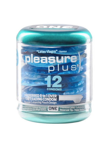 One Condoms Pleasure Plus 12 Pack
