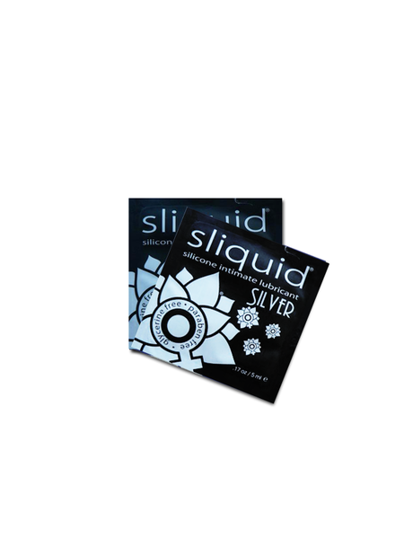 Sliquid Silver Silicone Lubricant Pillow Pack