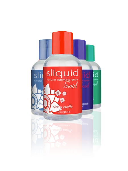 Sliquid Swirl Flavoured Lubricant 4.2oz