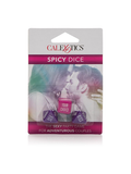 Spicy Dice Sex Game Packaging