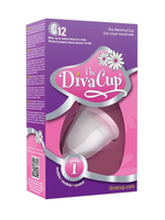 The Diva Cup Model 1 in Packaging