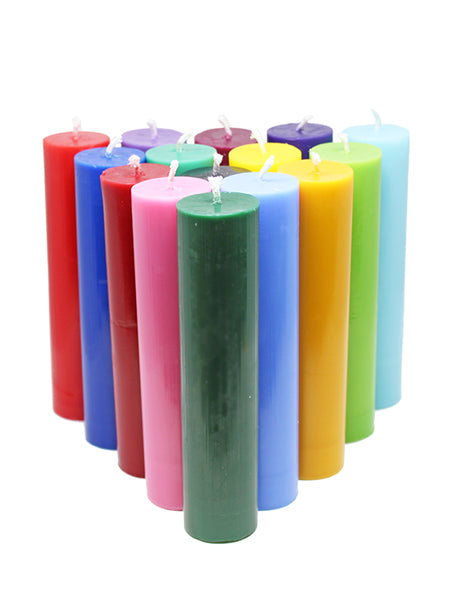 Play Wax Pillar Candle