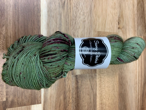 Savvy Skeins Sensible Sock Prickly Pear