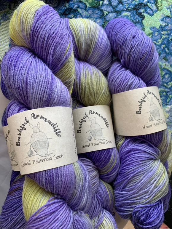 Bashful Armadillo Fiber Texas Wildflowers Collection