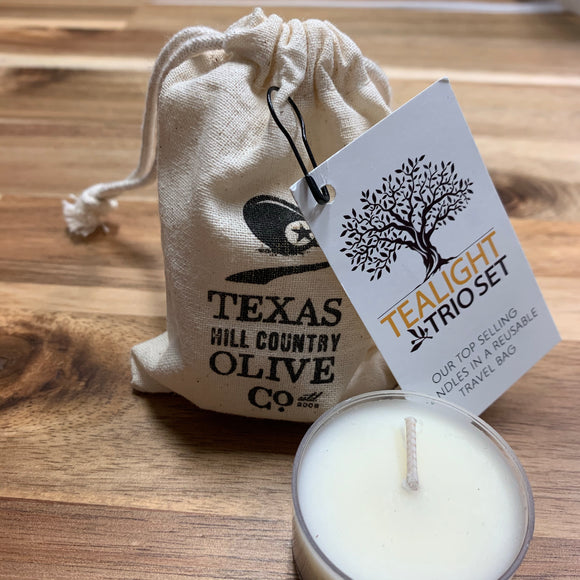 Texas Hill Country Olive Co, Tea Lights
