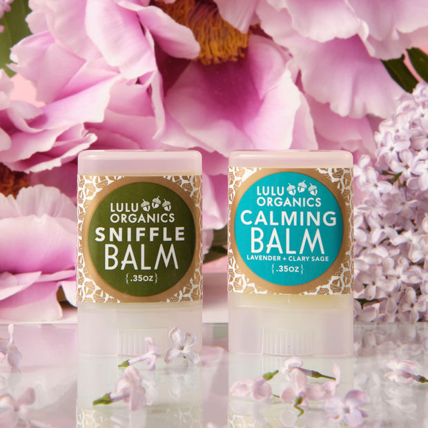 LuLu Sniffle and Calming Balms