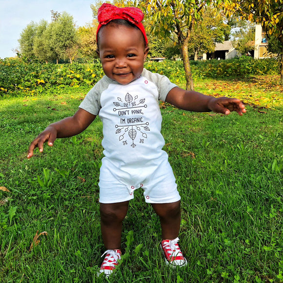 Baby shortsleeve rompers