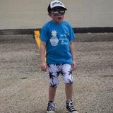 Pineapple kids shortsleeve shirt