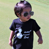 Pineapple baby shortsleeve shirt