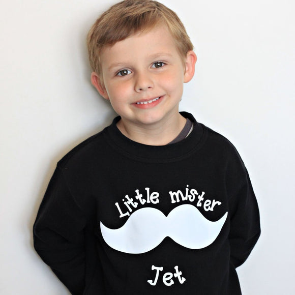 'Little mister' kids sweater