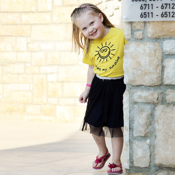 'You are my sunshine' kids shirt