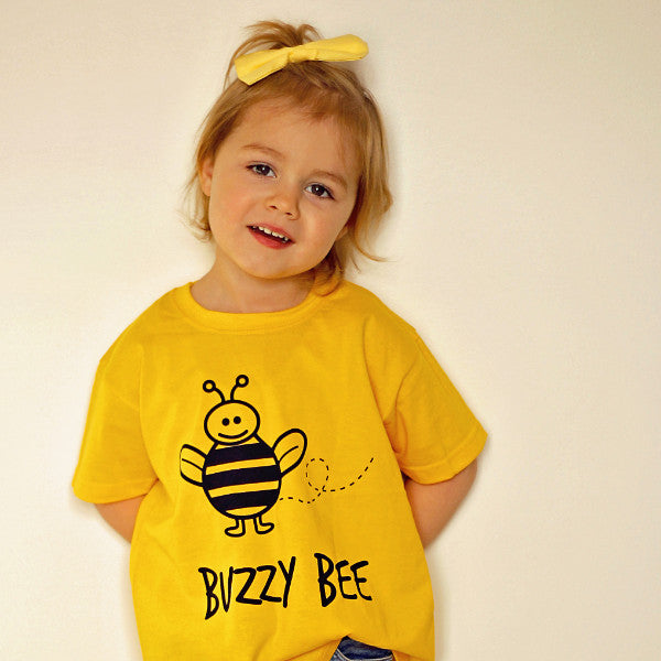 'Buzzy bee' kids shortsleeve shirt