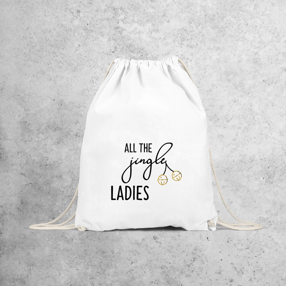 'All the jingle ladies' backpack