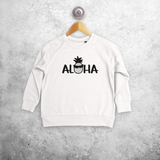 'Aloha' kids sweater