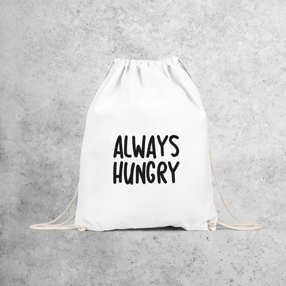 'Always hungry' backpack