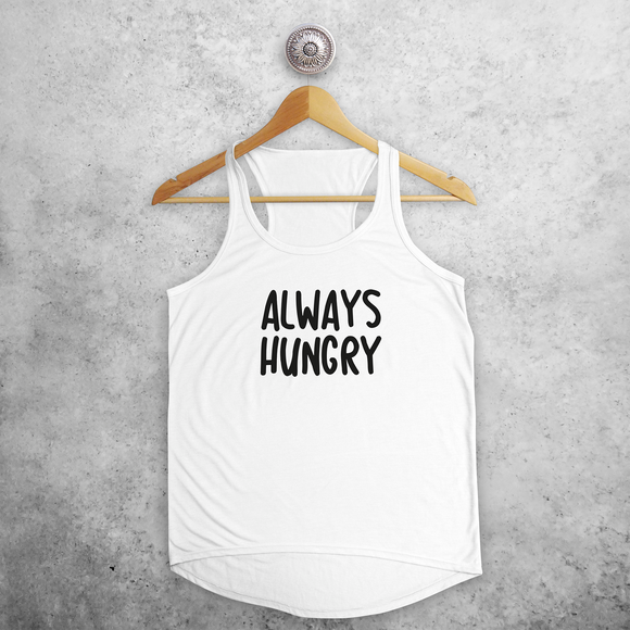 'Always hungry' tank top