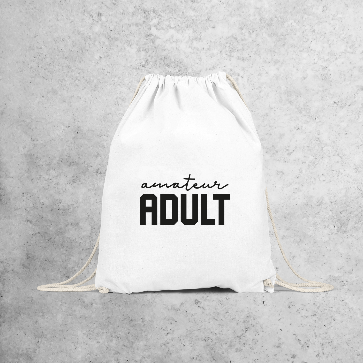 'Amateur adult' backpack