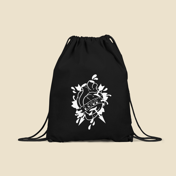 Anatomically correct heart backpack