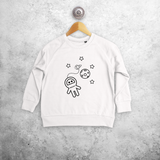 Astronaut kids sweater