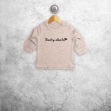 'Baby doll' baby sweater