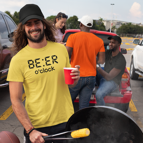 'Beer o'clock' adult shirt