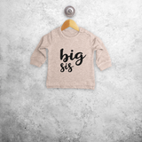 'Big sis' baby sweater