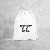 'Birthday babe' backpack