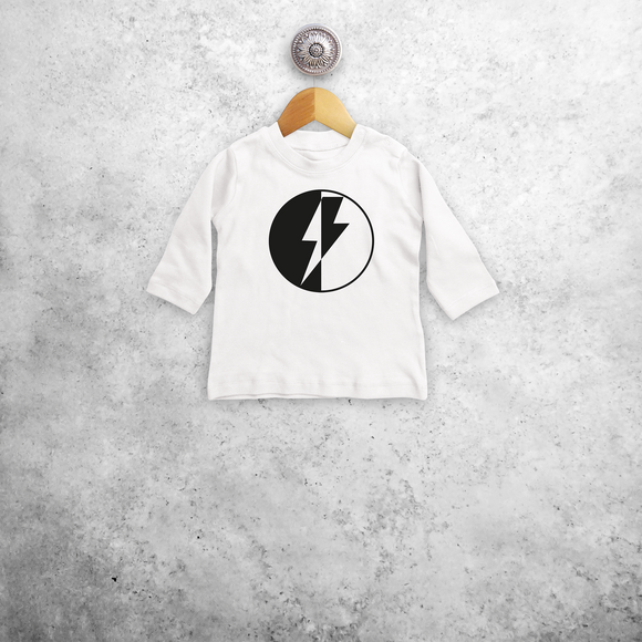 Lightening baby longsleeve shirt