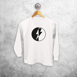 Lightening kids longsleeve shirt
