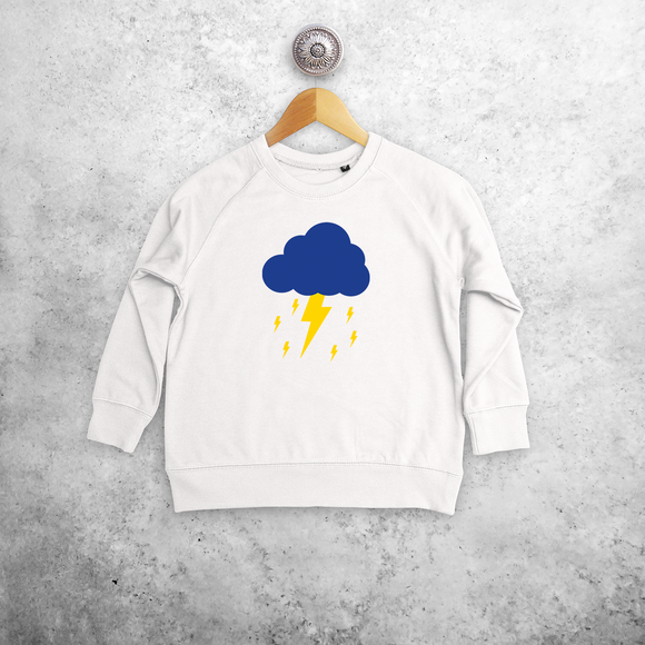 Lightening kids sweater