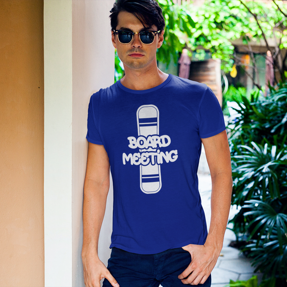 'Board meeting' adult shirt