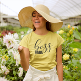 'Boss babe' adult shirt