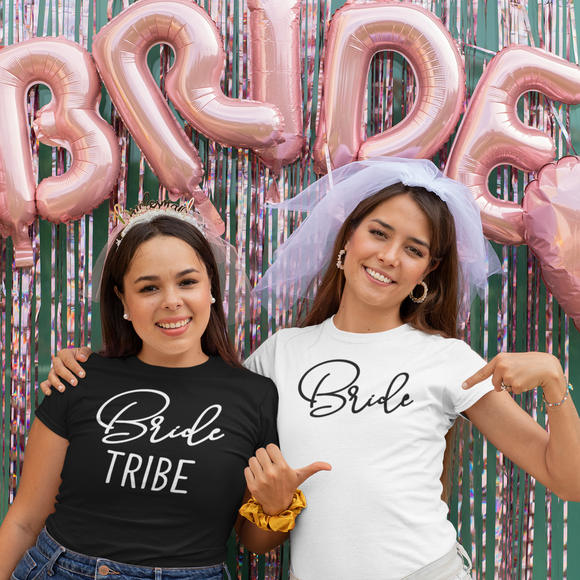 'Bride' adult shirt
