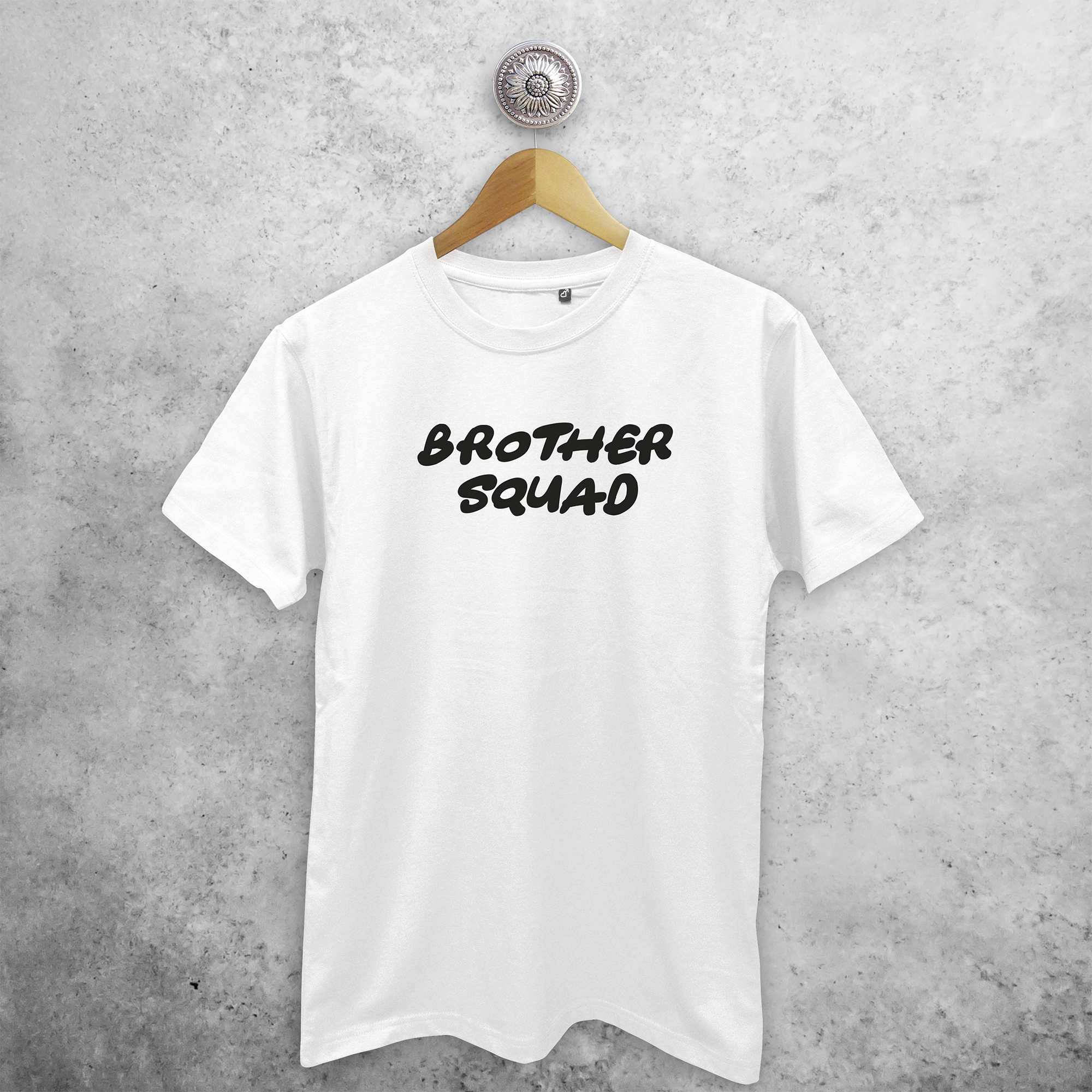 'Brother squad' adult shirt