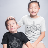 'Brothers forever' kids shortsleeve shirt