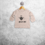 'Buzzy bee' baby sweater