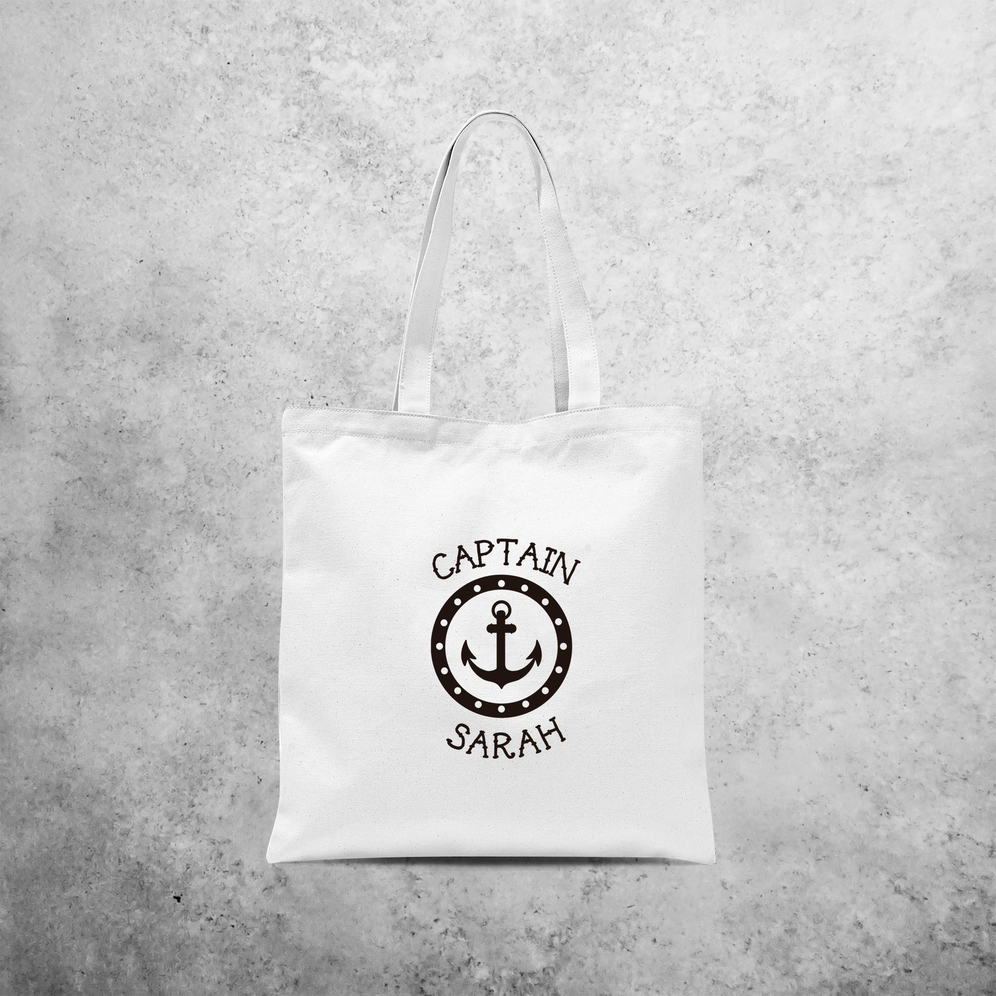 'Captain' tote bag