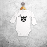'Cat lady in training' baby longsleeve bodysuit