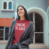 'Changing the world' sweater