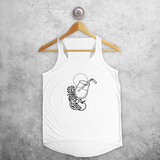 Cocktail tank top