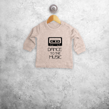'Dance to the music' baby sweater