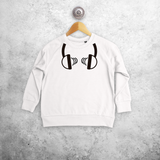 DJ kids sweater