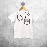 Doctor kids shortsleeve shirt
