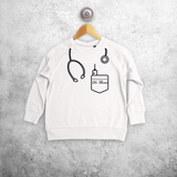 Doctor kids sweater