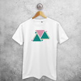 Triangles adult shirt