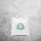 'Good luck' Saint Patricks Day tote bag