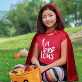 'Fa-boo-lous' kids shortsleeve shirt